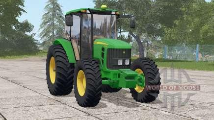 John Deere 6110 J для Farming Simulator 2017