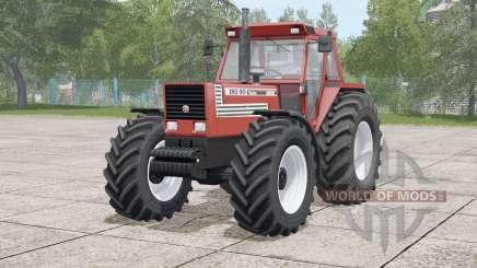 Fiat 180-90 Turbo〡weight or front hydraulics configurations для Farming Simulator 2017