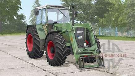 Fendt Favorit 611 LSA Turbomatik E〡stronger exhaust smoke для Farming Simulator 2017