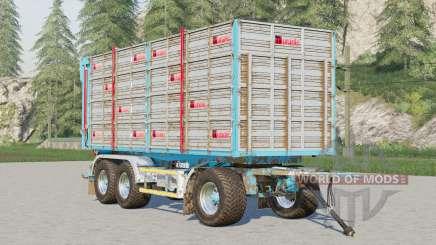 Adurante trailer〡selectable wheels brand для Farming Simulator 2017