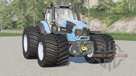 Deutz-Fahr Serie 9 TTV Agrotron〡wide tire для Farming Simulator 2017