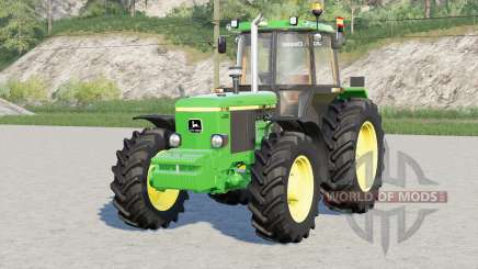 John Deere 3050 series〡exhaust configuration для Farming Simulator 2017