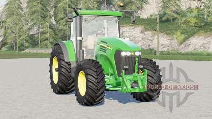 John Deere 7020 serieᵴ для Farming Simulator 2017