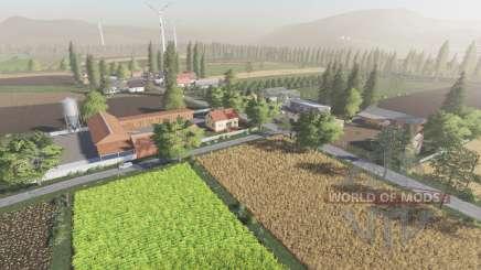 Sandomierskie okolice для Farming Simulator 2017