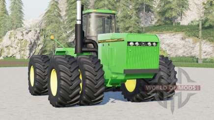 John Deere 8900 series〡2 engine options для Farming Simulator 2017
