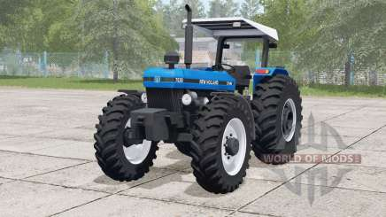 New Holland 7630〡frontloader support для Farming Simulator 2017