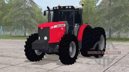 Massey Ferguson 7415〡dual rear wheels для Farming Simulator 2017