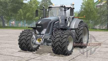 Fendt 900 Vario〡narrow twin tire set для Farming Simulator 2017
