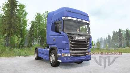 Scania R730 4x4 Topline 2009 v3.0 для MudRunner