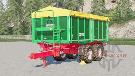 Kroger Agroliner TKD 302〡configurable tires для Farming Simulator 2017