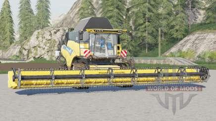 New Holland CR9.90 Revelation〡tank design для Farming Simulator 2017