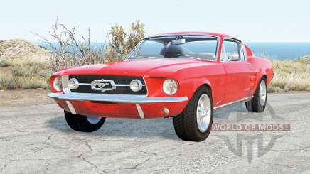 Ford Mustang GT-A Fastback 1967 для BeamNG Drive