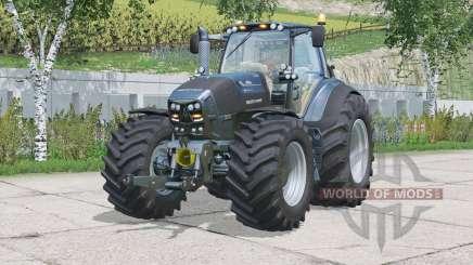 Deutz-Fahr 7250 TTV Warrior〡seat suspension для Farming Simulator 2015