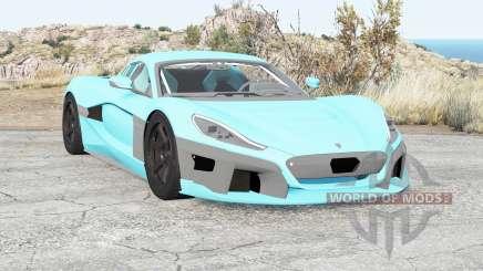 Rimac Concept Two 2018 для BeamNG Drive