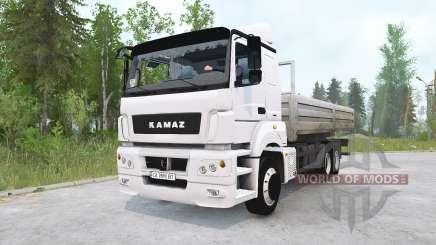 КамАЗ-65207 для MudRunner