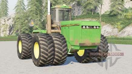 John Deere 8900〡Firestone and Michelin tires для Farming Simulator 2017