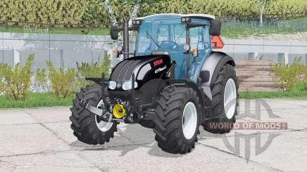 Steyr Multi 4115 Black Beauty для Farming Simulator 2015