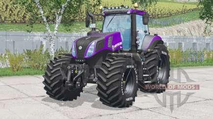 New Holland T8.420〡removable tire pressure hoses для Farming Simulator 2015