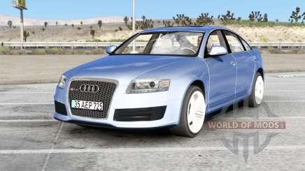 Audi RS 6 sedan (C6) 2008 v2.0 для American Truck Simulator