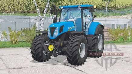 New Holland T7.170〡warning light для Farming Simulator 2015