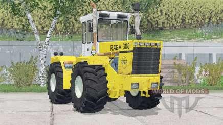 Raba 300 4WD〡added wheels для Farming Simulator 2015