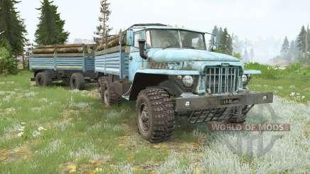 Урал-375Д для MudRunner
