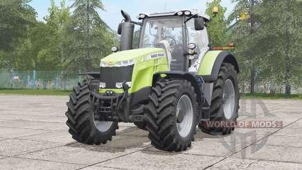 Massey Ferguson 8700 series〡visual extras для Farming Simulator 2017