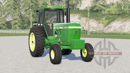 John Deere 4040 series〡movable fan для Farming Simulator 2017