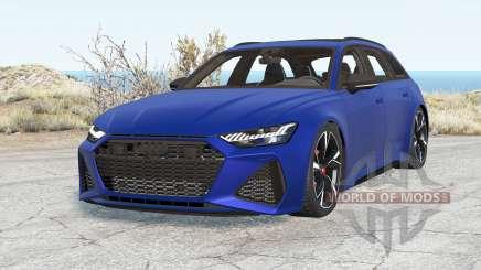 Audi RS 6 Avant (C8) 2019 v2.0 для BeamNG Drive