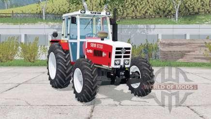 Steyr 8130A Turbo〡animated wiper для Farming Simulator 2015