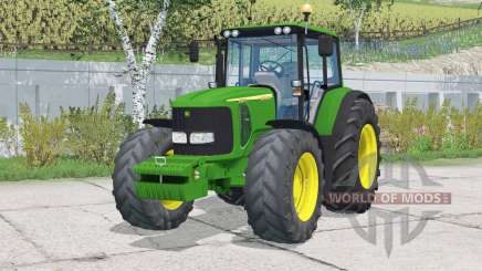 John Deere 6920S〡frontloader support для Farming Simulator 2015