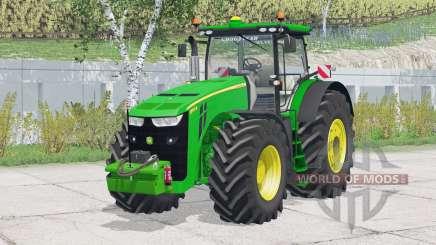 John Deere 8370R〡washable wheels для Farming Simulator 2015