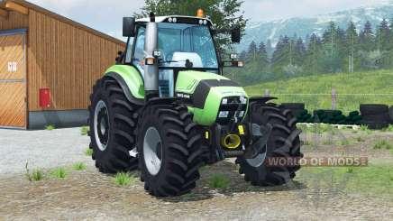 Deutz-Fahr Agrotron TTV 430〡handbrake для Farming Simulator 2013