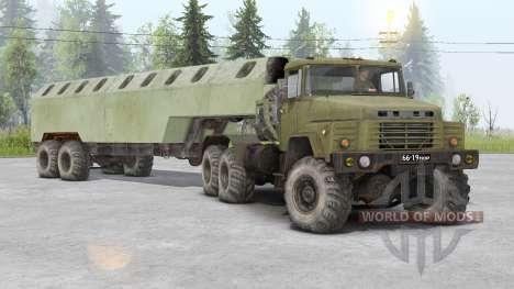 КрАЗ-260Д для Spin Tires
