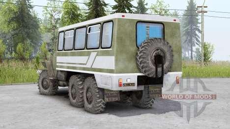 Урал-4320-10 v1.2 для Spin Tires
