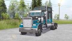 Kenworth W900 6x6 v1.1 для Spin Tires