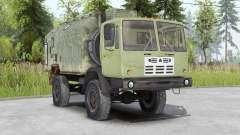 КАЗ-4540 Колхида v1.2 для Spin Tires