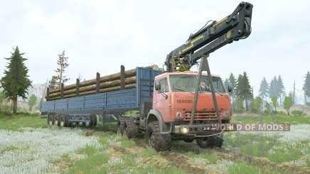КамАЗ-4૩10 для MudRunner