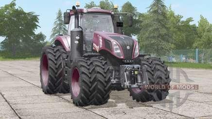 New Holland T8.435〡color configurations для Farming Simulator 2017