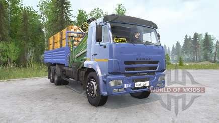 КамАЗ-65117 для MudRunner