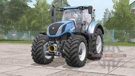 New Holland T7 series〡folding steering column для Farming Simulator 2017