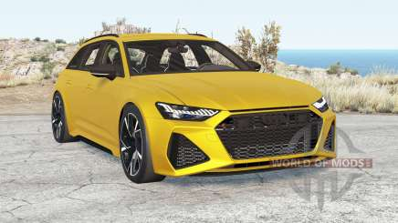 Audi RS 6 Avant (C8) 2019 v2.1 для BeamNG Drive