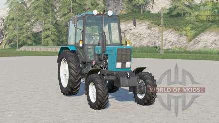 МТЗ-82.1 Беларус〡укомплектован приспособлениями для Farming Simulator 2017