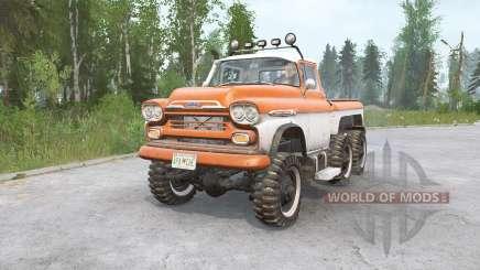 Chevrolet Apache 38 6x6 1959 для MudRunner