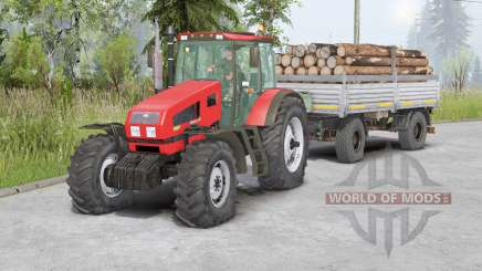 MTZ-1523 Belarus〡movable front axle для Spin Tires