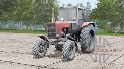 МТЗ-82 Беларус〡вибрация двигателя для Farming Simulator 2017