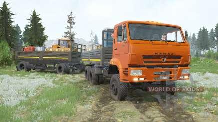 КамАЗ-65222 для MudRunner