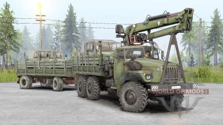 Ural-4320-10 v1.2 для Spin Tires