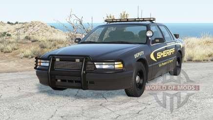 Gavril Grand Marshall Sandy Mountain Sheriff для BeamNG Drive