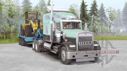 Kenworth W900 6x4 для Spin Tires